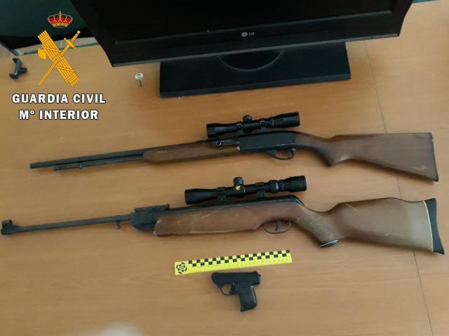 Dos detenidos, uno de ellos menor, por ocho delitos de robo en localidades de Toledo y Madrid