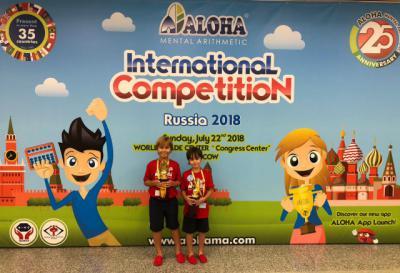 Dos hermanos toledanos de 7 y 8 años se proclaman Campeones del Mundo de Cálculo Mental