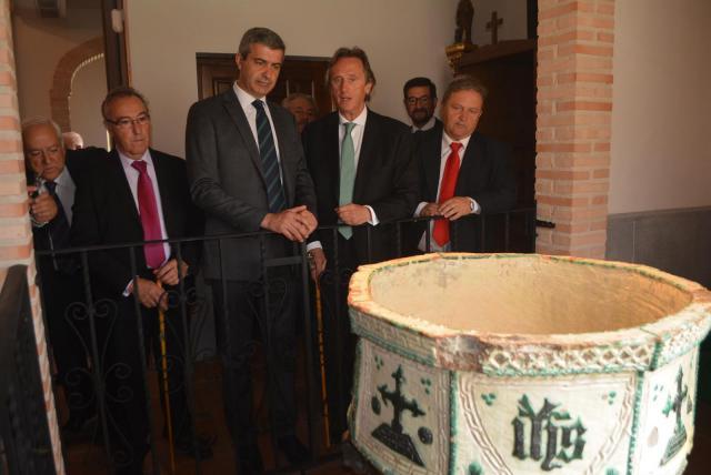 Camarenilla quiere celebrar el 225 aniversario de la llegada de la pila bautismal donada por el cardenal Lorenzana