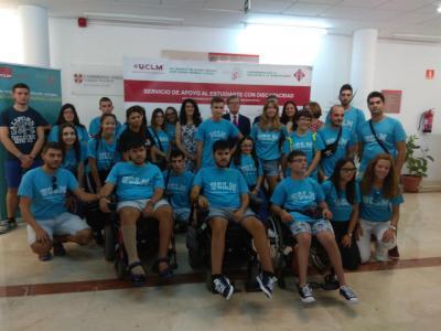 Dieciséis jóvenes discapacitados conocen las posibilidades de estudiar en la UCLM gracias al 'Campus Inclusivo'