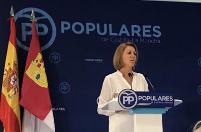 Cospedal deja su escaño en el Congreso tras la polémica por las grabaciones de Villarejo