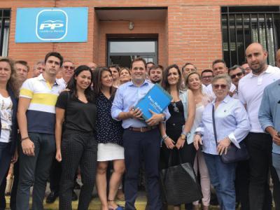 Núñez refrenda su candidatura a liderar el PP CLM con 3.679 avales