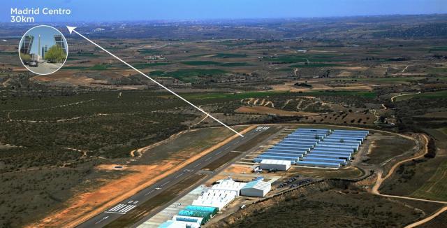 Page ve en el aeropuerto de Casarrubios una 'oportunidad de desarrollo' del eje Talavera-Extremadura