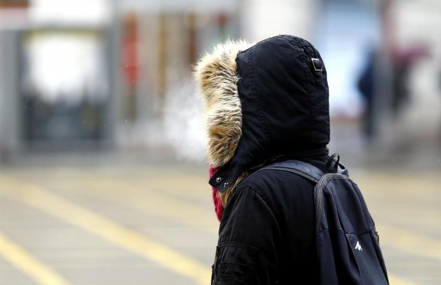 Una masa de aire ártico dejará este fin de semana temperaturas invernales
