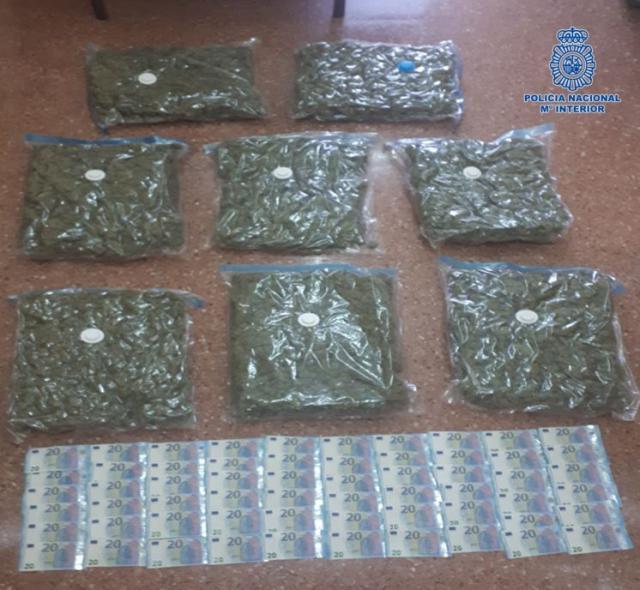 Desarticulado un grupo criminal que exportaba marihuana a países europeos tras cultivarla en Toledo