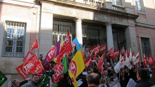 Empleados públicos de CLM anunian movilizaciones si la Junta no negocia