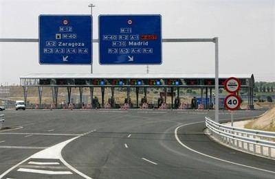 Las autopistas rescatadas costarán un 30% menos y serán gratuitas por la noche desde el martes