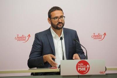 El secretario de Organización del PSOE CLM, Sergio Gutiérrez / Archivo