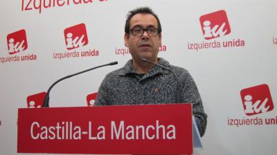 Juan Ramón Crespo, único candidato de IU a la Presidencia de la Junta