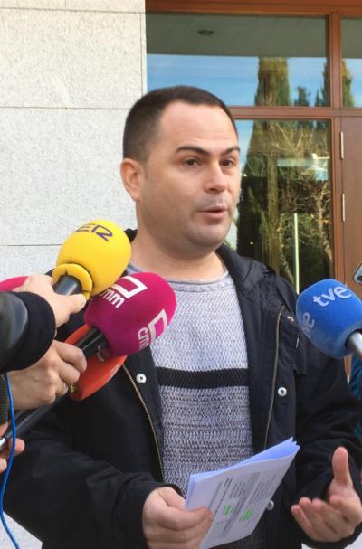 Llorente desacredita las primarias de Podemos CLM y amenaza con ir a la justicia