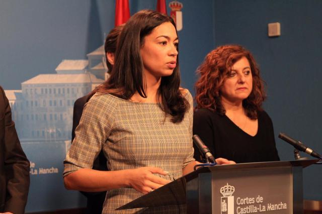 Claudia Alonso, candidata del PP a la Alcaldía de Toledo