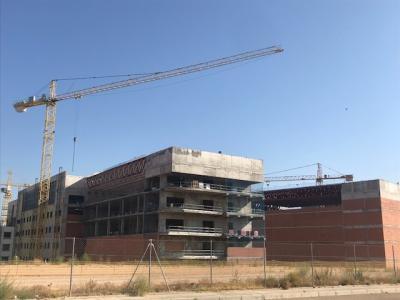 La obra del nuevo hospital de Toledo se terminará en abril