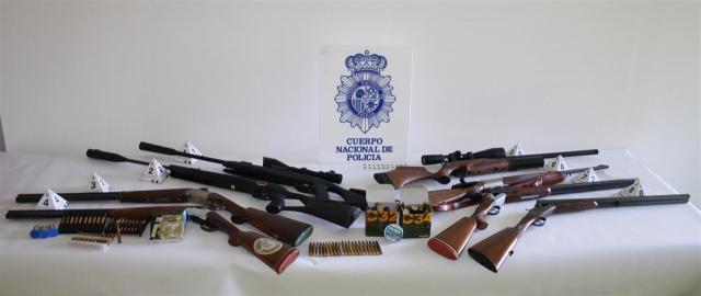 Detenido el presunto autor de los disparos con una carabina de perdigones en Albacete