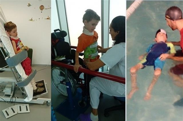 Piden ayuda para financiar el tratamiento de un niño de 7 años ingresado en Parapléjicos