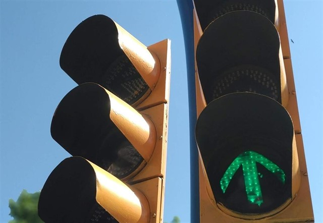 ¿Dónde están los polémicos semáforos de la A-5?
