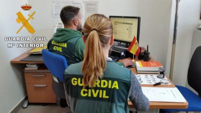 La Guardia Civil de Illescas investiga a seis menores por difundir pornografía infantil