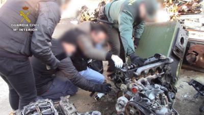 Descubren una organización dedicada a la gestión ilegal de residuos en Pantoja