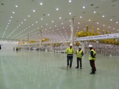 Page confirma la intención de Airbus de recolocar a los empleados de Illescas que trabajan en el A380