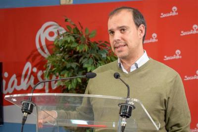 Page propone Pablo Bellido como el presidente de las Cortes en la próxima legislatura