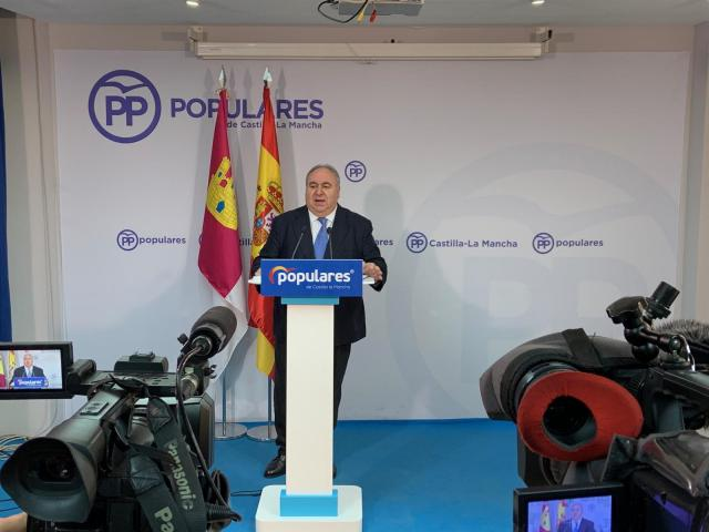 Tirado será el número uno del PP por Toledo al Congreso en sustitución de Cospedal