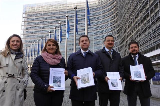 Page quiere que Europa 'vigile y obligue' a España a cumplir la ley respecto al Tajo
