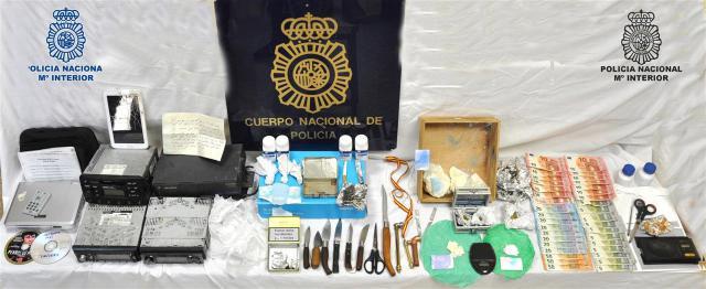 Dos detenidos por utilizar su vivienda como 'narco-sala'
