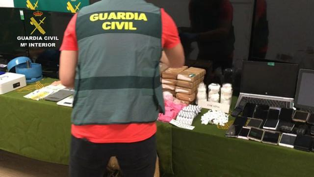 Veinte detenidos en Guadalajara y otras provincias por tráfico de drogas