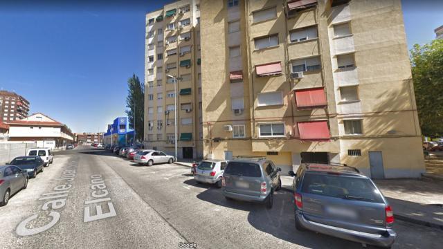 Herido un hombre de 84 años tras el incendio en el sótano de una vivienda de Talavera