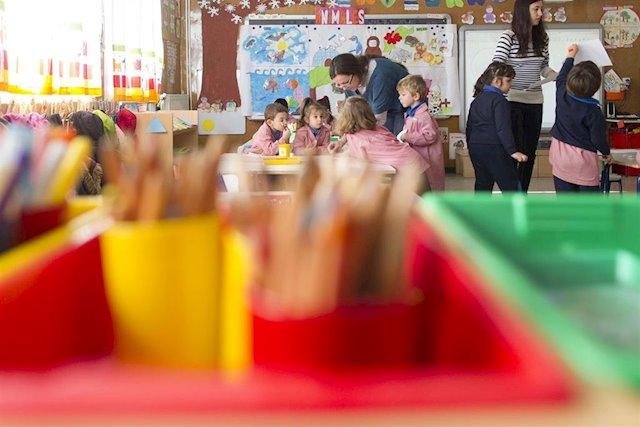 Se abre el plazo para solicitar subvenciones para el mantenimiento de centros de Educación Infantil