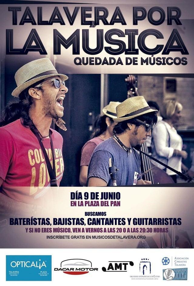 Talavera por la música' reunirá el día 9 en la Plaza del Pan a decenas de músicos