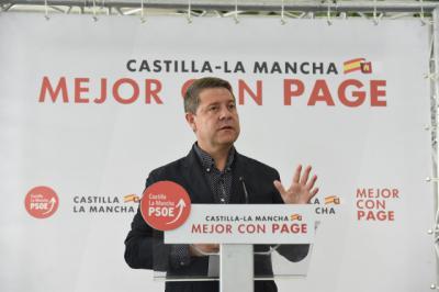 La advertencia de Page a Cs si no apoya a PSOE en las capitales de CLM