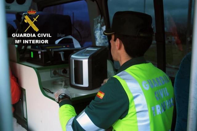 Investigado un camionero por circular sextuplicando la tasa de alcoholemia permitida