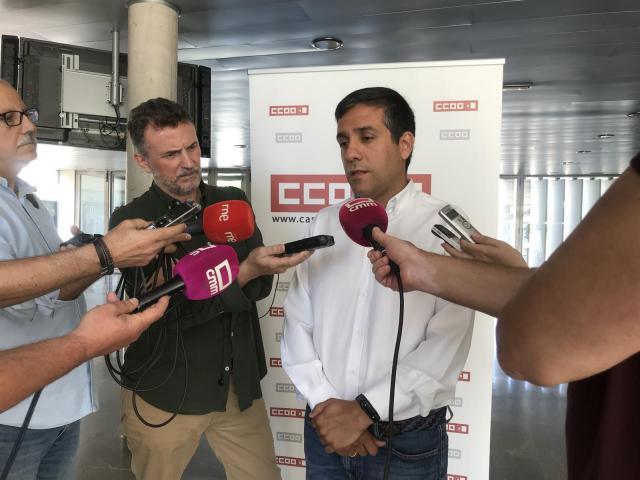 CCOO plantea al Gobierno de Page tres grandes pactos