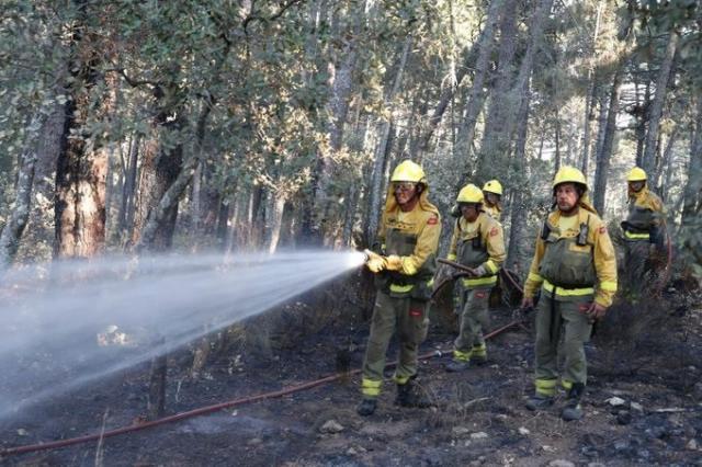 Extinguido el fuego de Almorox que ha calcinado 2.183 hectáreas