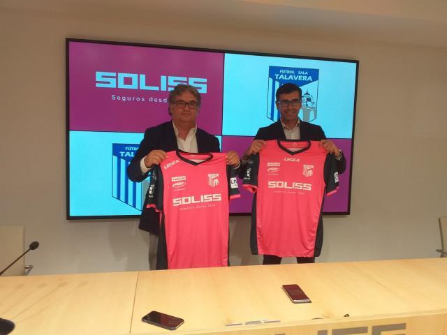 Soliss Seguros seguirá patrocinando al Fútbol Sala Talavera