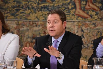 García-Page se reunirá con PP y Cs