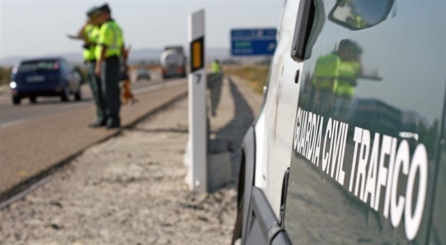 El guardia civil herido regulaba el tráfico por un accidente previo