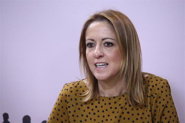 Cristina Maestre, vicesecretaria y portavoz del PSOE de Castilla-La Mancha / Foto: EuropaPress
