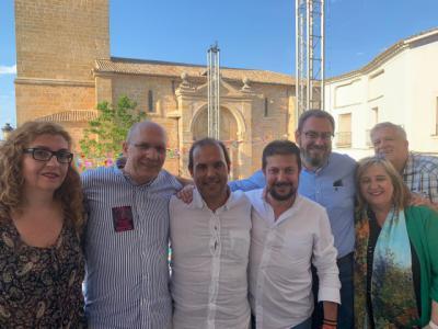 """Bellido destaca a Pérez Torrecilla como """"referente en la defensa del agua"""""""