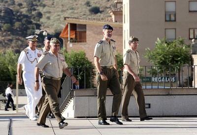 Felipe VI visita el Instituto de Historia y Cultura Militar en su sede del Museo del Ejército en Toledo