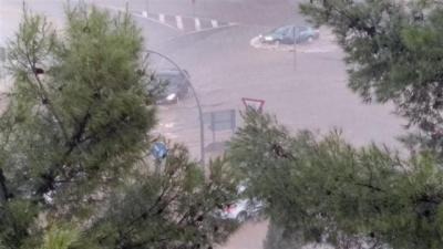El 112 gestiona hasta 67 incidencias causadas por una fuerte tormenta