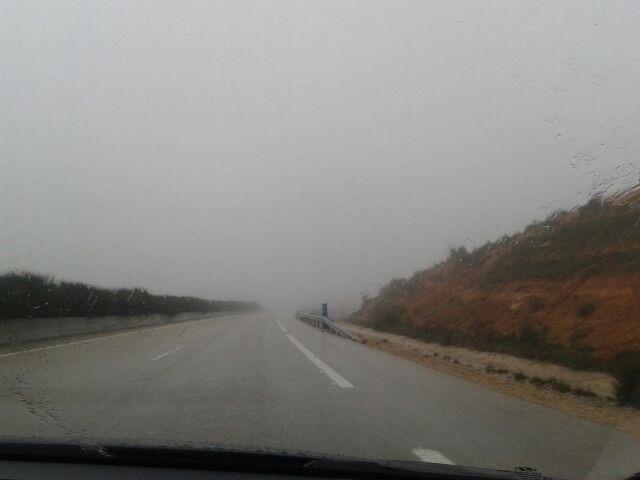 Cortada la CM-3130 en la provincia de Toledo por las lluvias