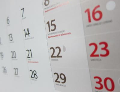 Publicado el calendario laboral de CLM para 2020