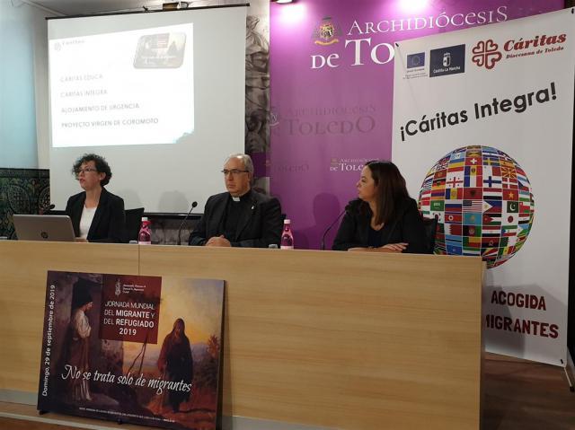 Cáritas Integra atendió a 541 migrantes en lo que va de año en la provincia de Toledo