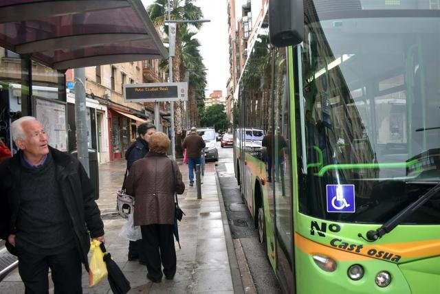 CLM registra una de las mayores subidas de viajeros en el transporte urbano