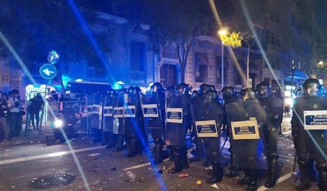Page apremia a Torra a condenar la violencia en Cataluña