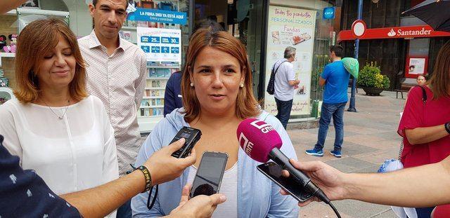 La alcaldesa de Talavera, Tita García