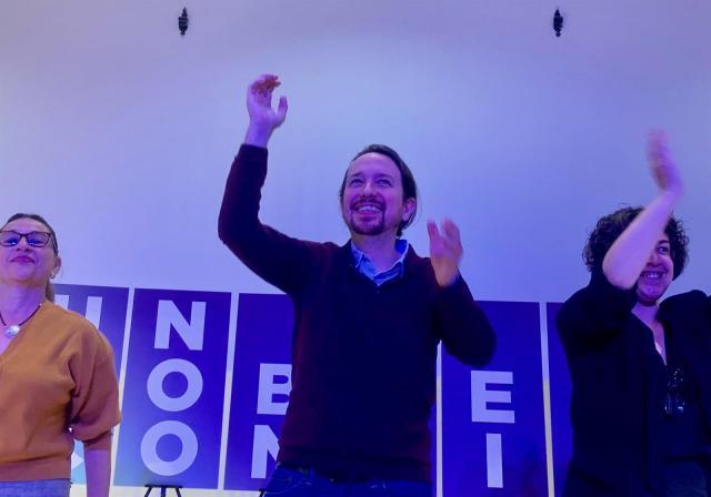 Pablo Iglesias, convencido de que Unidas Podemos recuperará representación en CLM