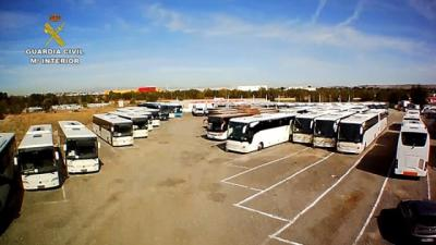 Detenido un empresario de Talavera que adquiría ilegalmente autobuses y los usaba para transporte de pasajeros