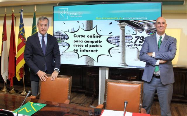 Eurocaja Rural lanza un programa para digitalizar empresas en pueblos con menos de 3.000 habitantes